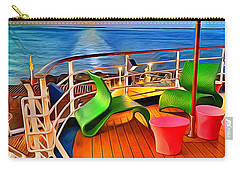 Carnival Pride Deck Carry-all Pouch