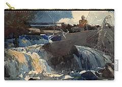 Casting In The Falls Carry-all Pouch