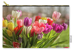 Colorful Tulips Carry-all Pouch