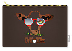 Cow Art Carry-all Pouch