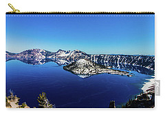 Carry-all Pouch featuring the photograph Crater Lake by Jonny D