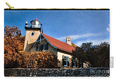 Eagle Bluff Lighthouse Carry-all Pouch by Joel Witmeyer