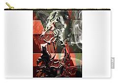 Eddie Van Halen Art Carry-all Pouch by Marvin Blaine