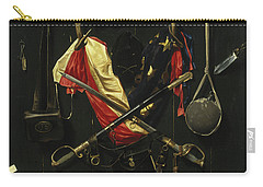 Emblems Of The Civil War Carry-all Pouch