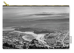Carry-all Pouch featuring the photograph Ferrol's Ria Panorama From Mount Ancos Galicia Spain by Pablo Avanzini