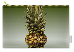 Carry-all Pouch featuring the photograph Fresh Ripe Pineapple Fruits by David French