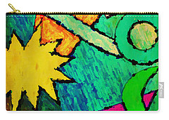 Funky Fanfare Carry-all Pouch
