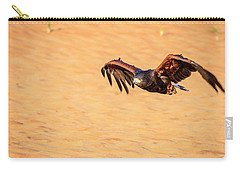 Carry-all Pouch featuring the photograph Harris Hawk by Alexey Stiop