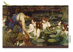 Hylas And The Nymphs Carry-all Pouch