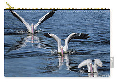 Carry-all Pouch featuring the photograph 3 Is Company by Jennie Breeze