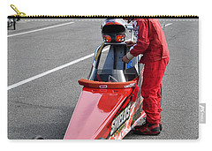 Junior Drag Racing March 2017 Carry-all Pouch