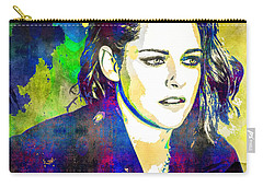 Kristen Stewart Carry-all Pouch by Svelby Art