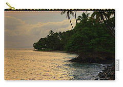 Carry-all Pouch featuring the photograph Lahaina Sunset by Kelly Wade