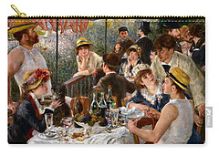 Luncheon Of The Boating Party Carry-all Pouch