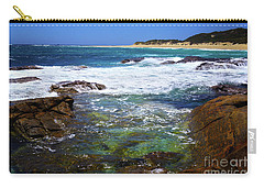 Mouth Of Margaret River Beach II Carry-all Pouch by Cassandra Buckley