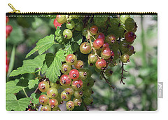 Carry-all Pouch featuring the photograph My Currant by Elvira Ladocki