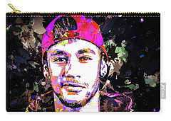 Neymar Carry-all Pouch by Svelby Art