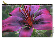 Nice Lily Carry-all Pouch by Elvira Ladocki