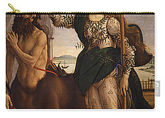Pallas And The Centaur Carry-all Pouch by Sandro Botticelli