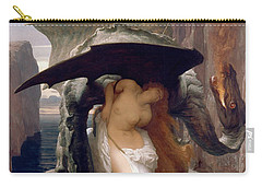 Perseus And Andromeda Carry-all Pouch by Frederic Leighton