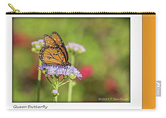 Monarch Butterfly Carry-all Pouch by Tam Ryan