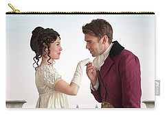 Regency Couple  Carry-all Pouch by Lee Avison
