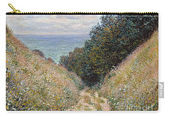 Road At La Cavee Pourville Carry-all Pouch