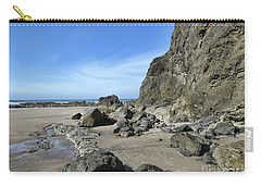 Carry-all Pouch featuring the photograph Roads End by Peggy Hughes