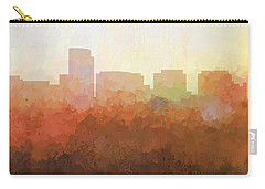 Carry-all Pouch featuring the digital art Rosslyn Virginia Skyline by Marlene Watson