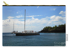 Carry-all Pouch featuring the photograph Sail Boat by Gary Wonning