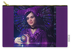 Carry-all Pouch featuring the painting Saint Magdalene Of Nagasaki by Suzanne Silvir