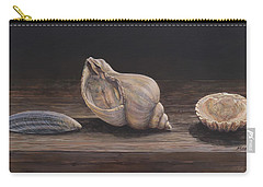 3 Seashells Carry-all Pouch