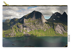 Segltinden And Kirkefjord From Brunakseltind Carry-all Pouch