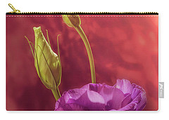 Showy Prairie Gentain Carry-all Pouch by Garry McMichael