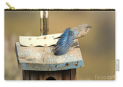 Spread Your Wings Carry-all Pouch by Mike Dawson