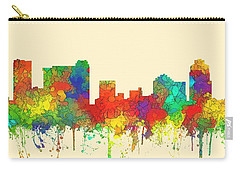 St Petersburg Florida Skyline Carry-all Pouch