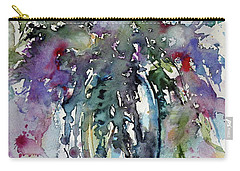 Carry-all Pouch featuring the painting Still Life by Kovacs Anna Brigitta