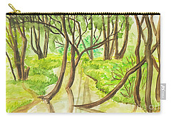 Summer Landscape, Painting Carry-all Pouch