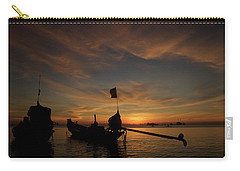 Sunrise On Koh Tao Island In Thailand Carry-all Pouch by Tamara Sushko