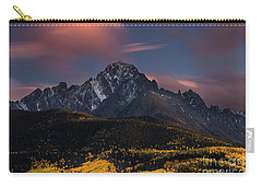 Carry-all Pouch featuring the photograph The Dallas Divide by Keith Kapple