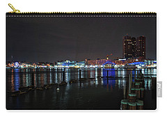 Carry-all Pouch featuring the photograph The Harbor View by Mark Dodd