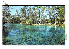 Western View Of Three Sisters Springs Carry-all Pouch