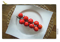 Tomatoes Carry-all Pouch by Cesar Vieira