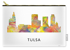 Tulsa Oklahoma Skyline Carry-all Pouch