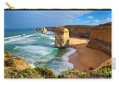 Carry-all Pouch featuring the photograph Twelve Apostles Great Ocean Road by Bill  Robinson