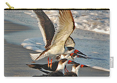 3- Upward And Onward Carry-all Pouch by Joseph Keane