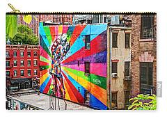 V - J Day Mural By Eduardo Kobra Carry-all Pouch
