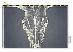 Vintage Ox Head Carry-all Pouch