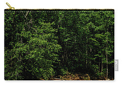 Carry-all Pouch featuring the photograph Williams River After The Flood by Thomas R Fletcher