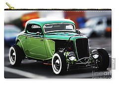 3 Window 1933 Ford Coupe Carry-all Pouch by Stephen Melia